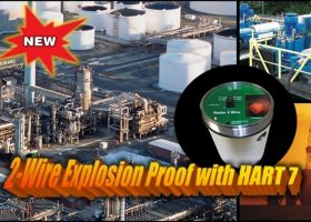 Radar Explosion Proof with HART